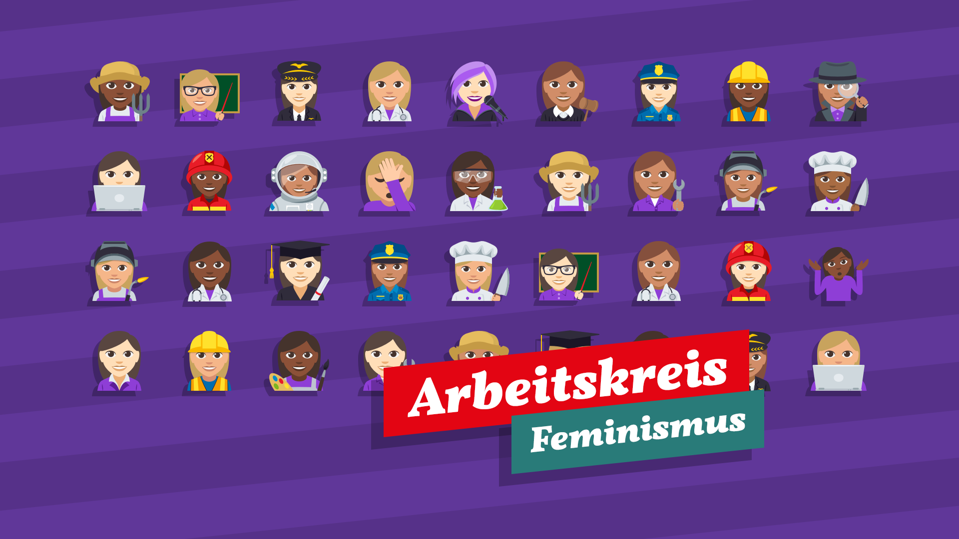 Grafik Arbeitskreis Feminismus
