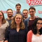 Jusos Göttingen auf der Landeskonferenz 2017
