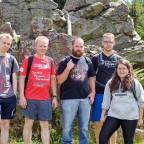 Jusos wandern über den Harzer Hexentrail