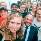 Jusos Göttingen mit Martin Schulz